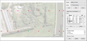 Spatial Model XY Coordinates